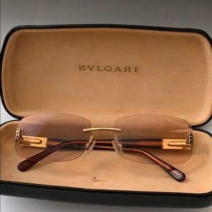 Bulgari Accessories - Bulgari rimless reading sunglasses